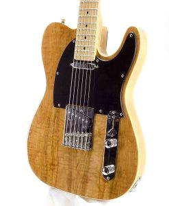 Branson T-type Guitar Flame Maple Top – Natural