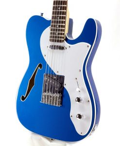 Branson T-type Guitar Semi-hollow – Blue