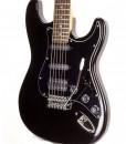 Branson S-type Guitar SSH - Black