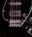 Branson S-type Guitar SSH – Black