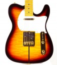 Branson T-type Guitar Neck Through – Sunburst